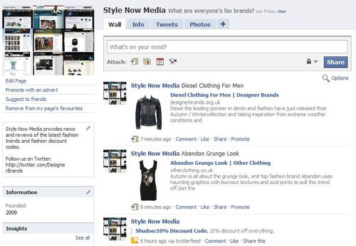 Join Style Now Media on Facebook and Win £100 to spend at my-wardrobe.com