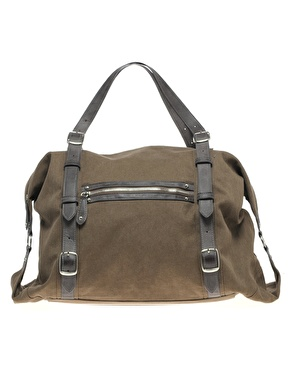 ASOS Canvas Buckle Holdall