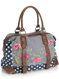 Accessorize Peony Spot Walton Weekend Bag