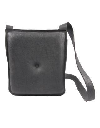 Alex Schrijvers Grey Buffalo Leather Cross Body Bag