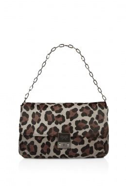 Anya Hindmarch Leopard Carker Shoulder Bag