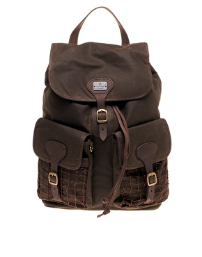 Barbour Beacon Waxed Cotton Rucksack