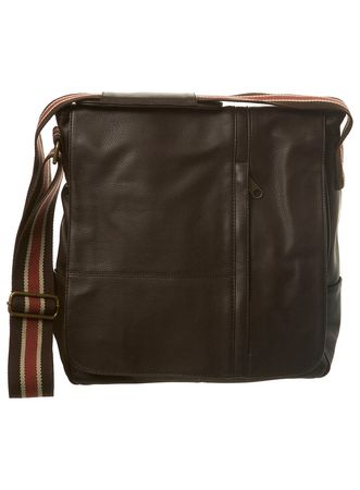 Burton Brown Faux Leather Despatch Bag
