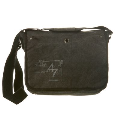 Burton Grey Print Canvas Despatch Bag