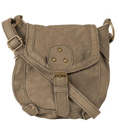 Dorothy Perkins Khaki Leather Crossbody Bag