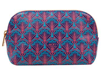 Liberty London Blue Iphis Cosmetics Case