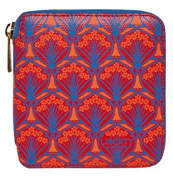 Liberty London Red Iphis Small Purse