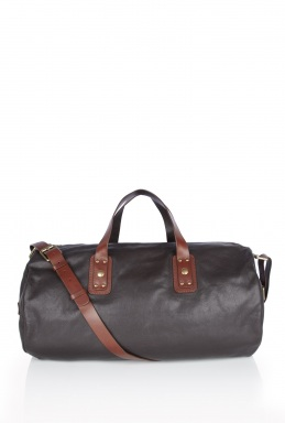 Marc by Marc Jacobs Chocolate Leather Gym Bag
