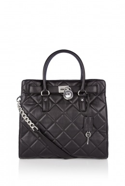 Michael Kors Large Quilted Hamilton Tote Bag