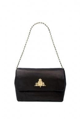 Mulberry Black Margaret Shoulder Bag