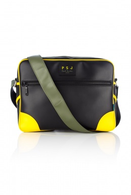 Paul Smith Black Multi Trim Crossbody