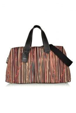 Paul Smith Tangled Multistripe Weekender Bag