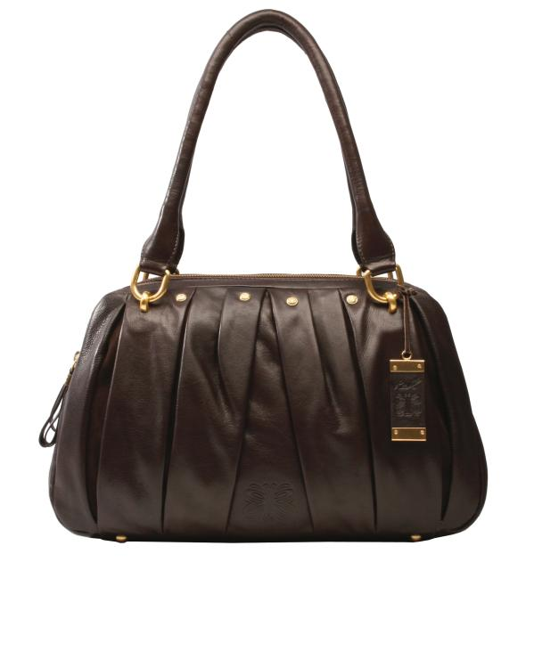 RI2k Tannah Pleated Leather Grab Bag