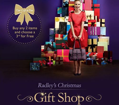 Radley Christmas Gift Shop