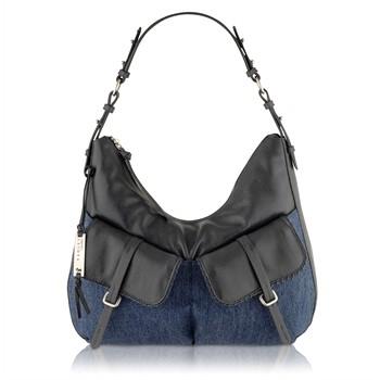 Radley Grosvernor Denim Hobo Shoulder Bag