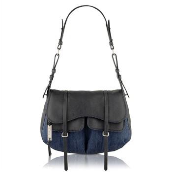 Radley Grosvernor Denim Large Flapover Shoulder Bag
