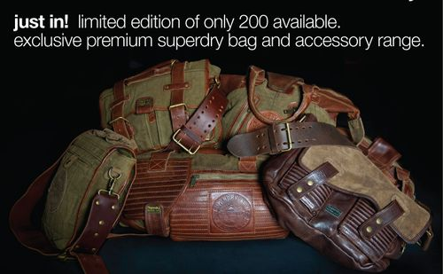 Superdry Limited Edition Bags