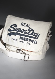 Superdry Logo Side Canvas Bag