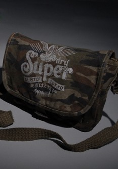 Superdry Spirit Side Canvas Bag