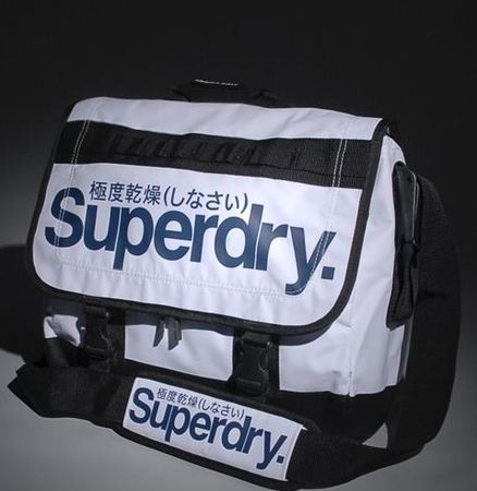 Superdry White Laptop Bag
