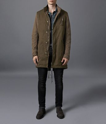 AllSaints Aino Parka Jacket