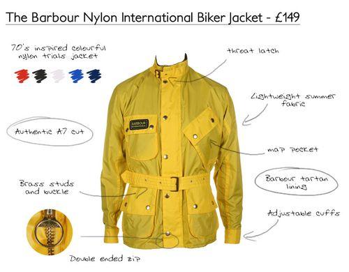 Barbour Nylon International Jacket