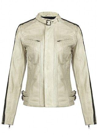 Firetrap Knievel Moto-cross Leather Jacket