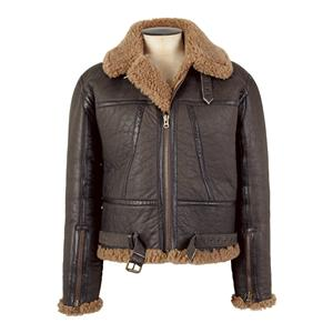 Jack Wills Meldon Leather Bomber Jacket