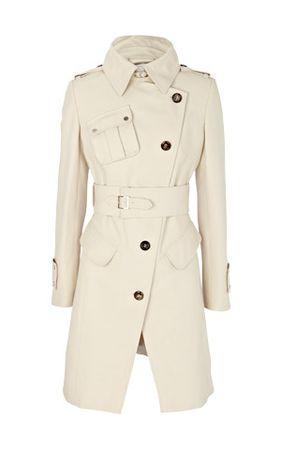 Karen Millen Urban Luxe Cotton Coat