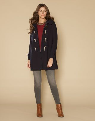 Monsoon Darcy Duffle Coat