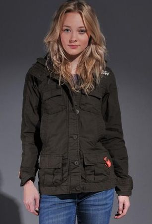 Superdry Retro Vintage Core Military Lite Jacket