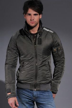 Superdry Retro Vintage Mens Jet Jacket