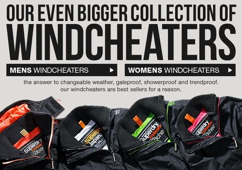 Superdry Windcheater Collection