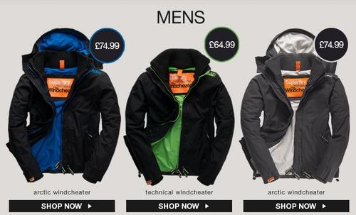 Superdry Windcheaters For Men