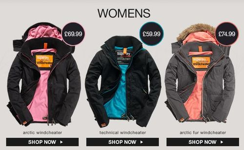 Superdry Windcheaters For Women