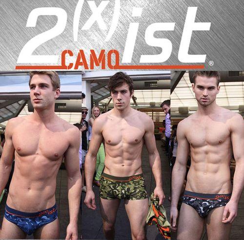 2xist Mens Camoflage Underwear