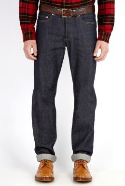 APC Unwashed Straight Fit Jeans