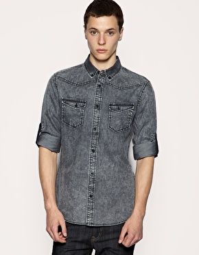 ASOS Acid Wash Shirt