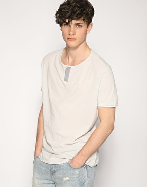 ASOS One Button Grandad T-Shirt
