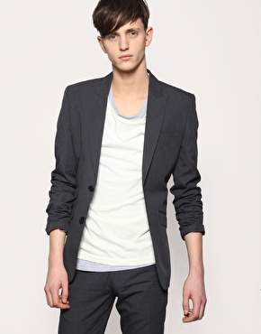 ASOS Tailoring Pinstripe Jacket