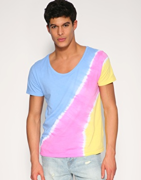 ASOS Tie Dye Scoop Neck T-Shirt
