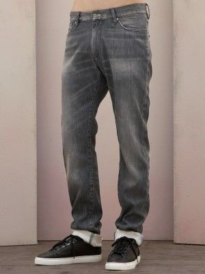 Acne Mod Washed Black Jeans