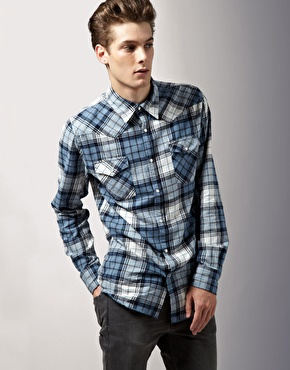 Acne Western Check Shirt
