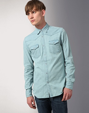 Acne Western Denim Shirt