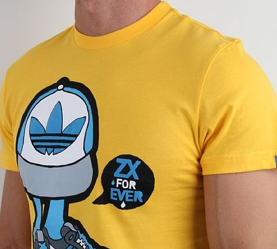 Adidas Graffiti t Shirt Neck T-shirt From Adidas