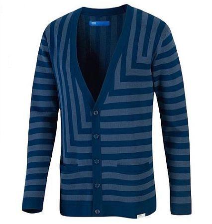 Adidas Stripe Cardigan