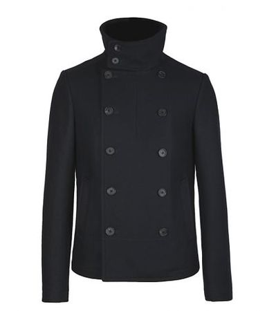 All Saints Derelict Pea Coat