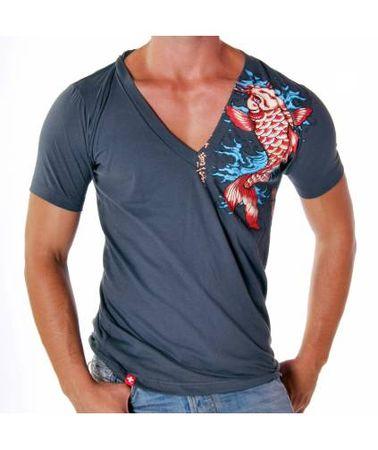 Andrew Christian Koi Deep V T-Shirt