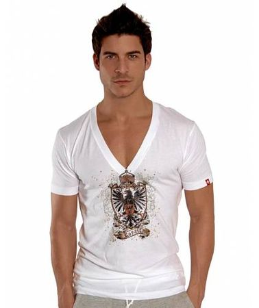 Andrew Christian Royalty Deep V T-Shirt