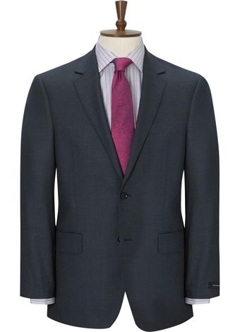 Austin Reed Blue Birdseye Suit